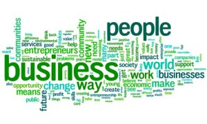 social enterprise wordle
