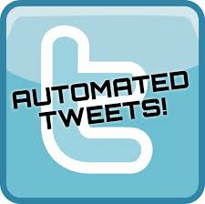 Automated tweets